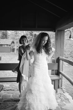 Mother daughter wedding photography