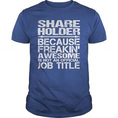 Awesome Tee  Awesome Tee For Share Holder Shirts & Tees