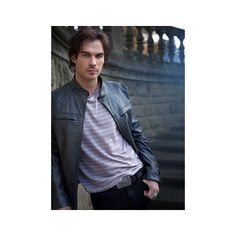 Vampires Through the Years ❤ liked on Polyvore featuring ian somerhalder and vampire diaries