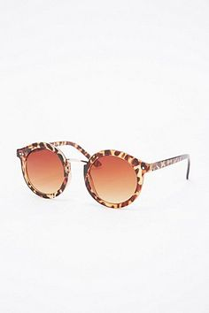 7f6befb9cc Cara Rounded Sunglasses in Tortoiseshell - Urban Outfitters Urban Outfitters
