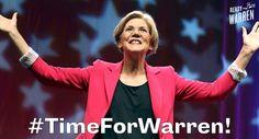 Elizabeth Fauxchahontas Warren Outlines Her New Communist Manifesto… July 2014 Elizabeth Warren For President, Democratic Party, Early Voting, Running For President, Up Girl, Presidents, Campaign, At Least