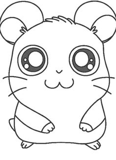 Cute Guinea Pig Coloring Pages guinea pig coloring page coloring ...