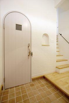 アーチドア/ドア/造作ドア/扉/流木ドアハンドル/インテリア/ナチュラルインテリア/注文住宅/施工例/ジャストの家/door/interior/house/homedecor/housedesign