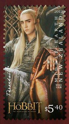 Thranduil Postage Stamp