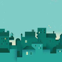Romantic city wallpaper