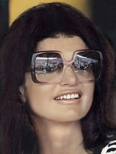 Jackie O and her many styles of sunglasses.