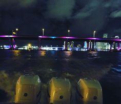 Young guns running Miami at night