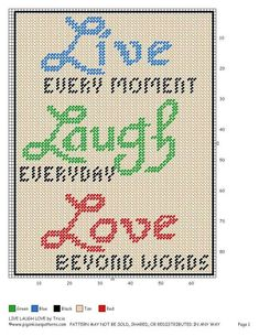 Live Laugh Love  I Love This!