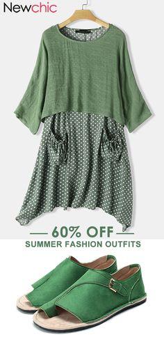 Fashion Outfits For Women #Springdress #Womenwear #ootd #Plussize
