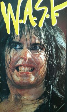 The Unstoppable,  Intense & Hungry Blackie Lawless of W.A.S.P.  #BlackieLawless #wasp