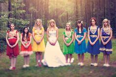Rainbow Wedding -