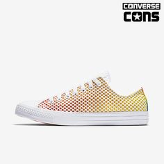9c1cd8e1d06b Converse Chuck Taylor All Star Pride Mesh Low Top Shoe Size 13 (Yellow)