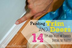 Rootandblossom: 14 Tips & Tricks for Painting Trim and Doors