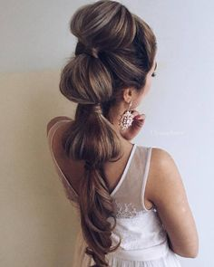 Ulyana Aster Long Bridal Hairstyles for Wedding_28 ❤ See More: http://www.deerpearlflowers.com/long-wedding-hairstyleswe-absolutely-adore/