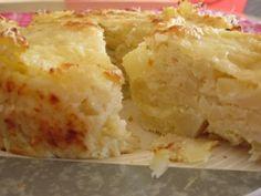 tortino di patate cavolfiore e formaggio, ricetta vegetariana. Facile ,veloce da realizzare, ma molto gustosa, per far mangiare le verdure anche ai bambini.