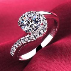 high quality vintage question sign women wedding engagement rings jewelry fine luxury ring wholesale us 6 7 8 9 drop shipping #Affiliate