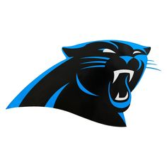 huge selection of 778d8 818f4 NFL Carolina Panthers Small Outdoor Logo Decal