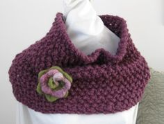 Easy Knitting Pattern for Oversized Snood Cowl / Capelet.