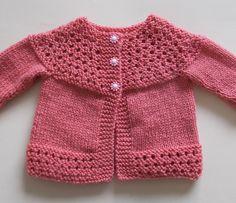Ravelry: marianna-mel's Tansy Baby Jacket