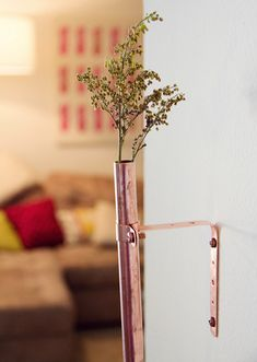 Poppytalk - The beautiful, the decayed and the handmade: DIY Copper Bud Vases