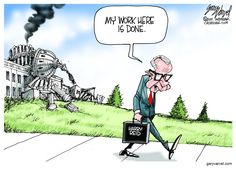 Harry Reid's Legacy PERFECTLY Summed Up With One Cartoon