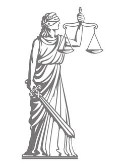 The zodiac sign of Libra is invariably associated with the human qualities of justice and equality. Read how these two lineaments built up the lores around the Libra constellation myths. Lady Justice, Law And Justice, Justitia Tattoo, Body Art Tattoos, Tatoos, Gravity Art, Justice Logo, Blind Art, Art Deco Tattoo