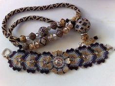 Beautiful Beadwork Creations by Giselea featured in recent Bead-Patterns.com Newsletter!