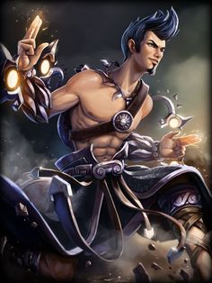 Apollo - Slickshot Skin | #SMITE