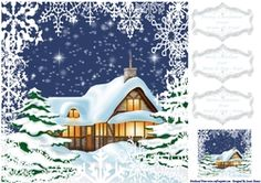 Christmas Is For Family 8x8 on Craftsuprint - View Now!