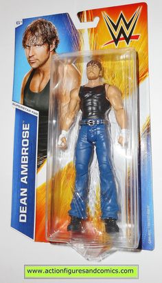 Wrestling WWE DEAN AMBROSE superstar 38 basic 2014 mattel toy action figures moc mip mib