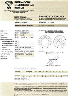 Foto 9, Diamant 0,59ct Brillant IGI Expertise Lupenrein River E, D6040