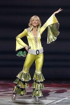 Mamma Mia - on broadway- loved her! Broadway Outfit, Broadway Costumes, Cool Costumes, Dance Costumes, Mamma Mia, Disco Party, Camilla, Ella Enchanted, 70s Mode
