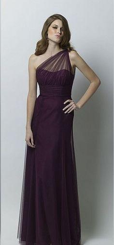 dark purple bridesmaid dresses - Google Search