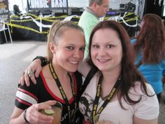 Karen and new friend Stephanie