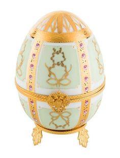 #BFCM #CyberMonday #The RealReal - #Fabergé Fabergé Christmas Egg Music Box - AdoreWe.com