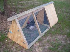 Free Chicken Coop Instructions - Build Your Own A Frame Chicken Coop