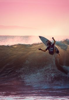 I adore surfing. Do it every day
