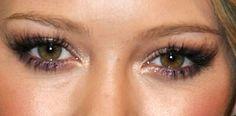Wet eye look
