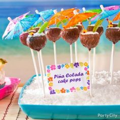 Image detail for -Sweet Ideas for Luau Party Treats - Party City