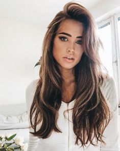 Jaw-Dropping Unique Ideas: Frauenfrisuren Hochsteckfrisuren Frauenfrisuren … – beautiful hair styles for wedding Pretty Hairstyles, Girl Hairstyles, Updos Hairstyle, Long Hairstyles With Layers, Wedding Hairstyles, Long Brunette Hairstyles, Baddie Hairstyles, Bridal Hairstyle, Hairstyles For Women Long