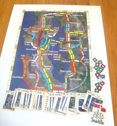 Full version - printed out. Ticket To Ride, The Expanse, Kid Stuff, Seattle, Fan, Printed, Kids, Young Children, Boys