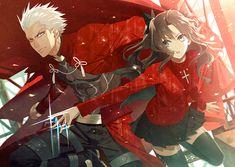 Hanamura Mai, Fate/stay night, Archer (Fate/stay night), Tohsaka Rin, Turtleneck, Gemstone Fate/stay night/#1857211 - Zerochan