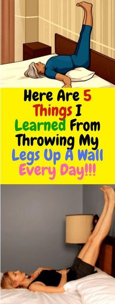 Here are 5 things i learned from throwing my legs up a wall every day - Fitness Health And Beauty, Health And Wellness, Health Fitness, Women's Health, Health Care, Flat Lay Fotografie, Legs Up The Wall, Fitness Motivation, Endocannabinoid System