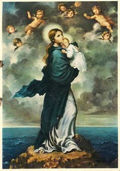 Hail Mary, bright Star of the Sea.