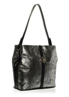 GROSSO BAG dámská stříbrná kabelka   MALL.SK