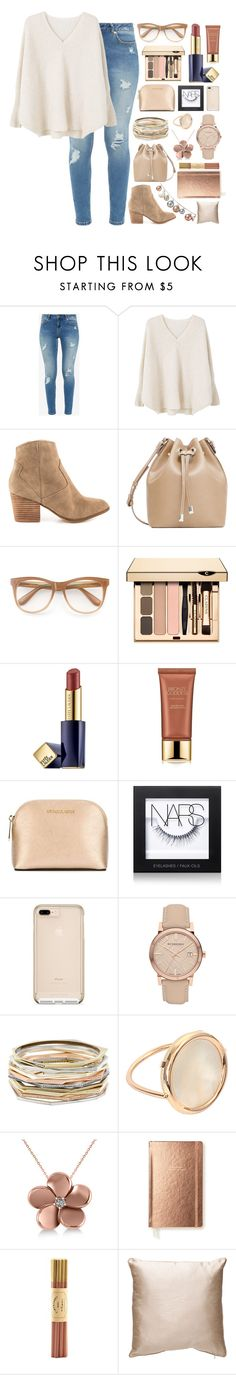 """#89"" by kaitofficial ❤ liked on Polyvore featuring Ted Baker, MANGO, ALDO, Wildfox, Estée Lauder, MICHAEL Michael Kors, NARS Cosmetics, Burberry, Kendra Scott and Ginette NY"