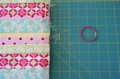 V and Co.: tutorial: composition book cover