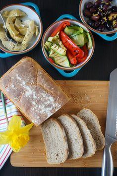 Obraz Bread, Ethnic Recipes, Food, Brot, Essen, Baking, Meals, Breads, Buns