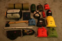 Wood Trekker: Overview of my Camping Gear-Part 1