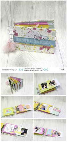 Mini Book mit dem #dpAugustkit16 von Mel für www.danipeuss.de